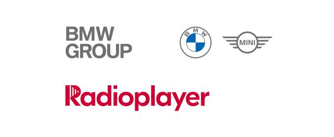Radioplayer, BMW Group logos